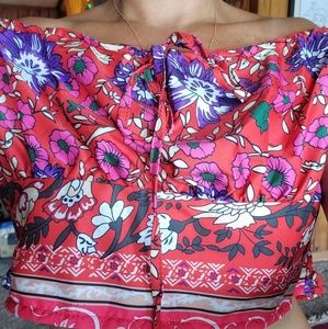 Skirt and Crop Top set